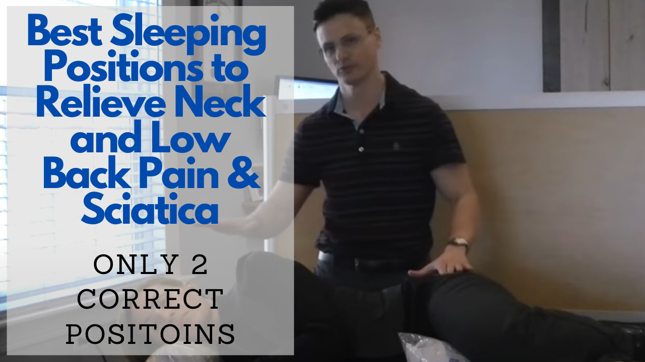 Reduce Your Pain By Adjusting Your Sleeping Position